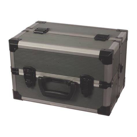 rugged storage box rugged tackle box with cantilever tray lockable secure tools storage ebay