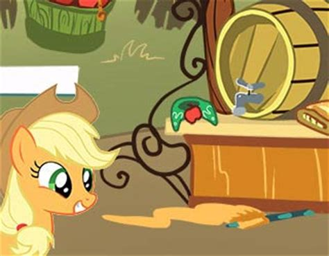 how to make things out of pony play free my pony find applejack s stuff