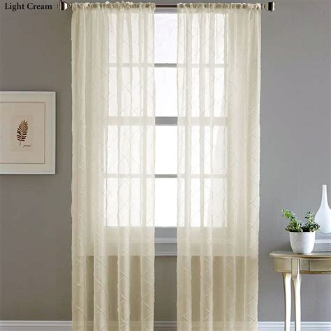 sheer voile curtain panels pintuck sheer voile curtain panels