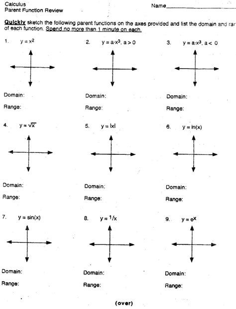 Calculus Worksheets by Mr Suominen S Math Homepage Pre Calculus Review Worksheets
