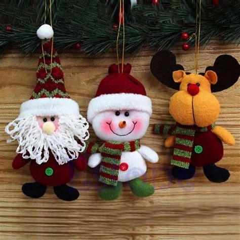 arboles de naviadad con santa clous como hacer peluches de navidad con cualquier tipo de relleno