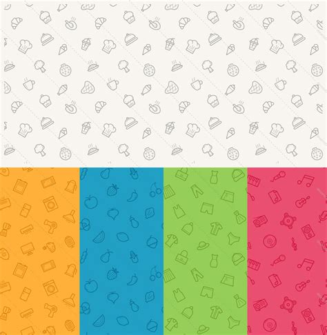 seamless icon pattern 24 seamless icon patterns dreamstale