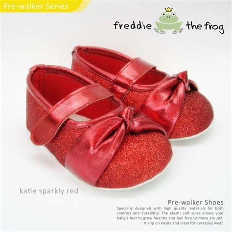 Sepatu Prewalker Ella White Silver prewalker shoes by freddie the frog jce shop