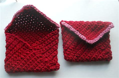 envelope bag free knitting pattern of the day from textiles4you february 2014