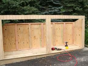 shed plans vipoutdoor garbage shed my shed plans elite
