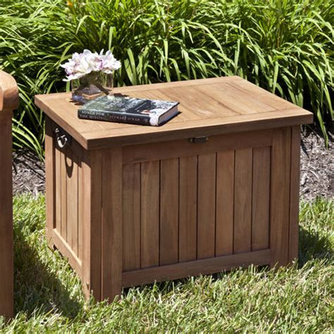 rectangular square end tables with storage teak outdoor square end table with storage outdoor