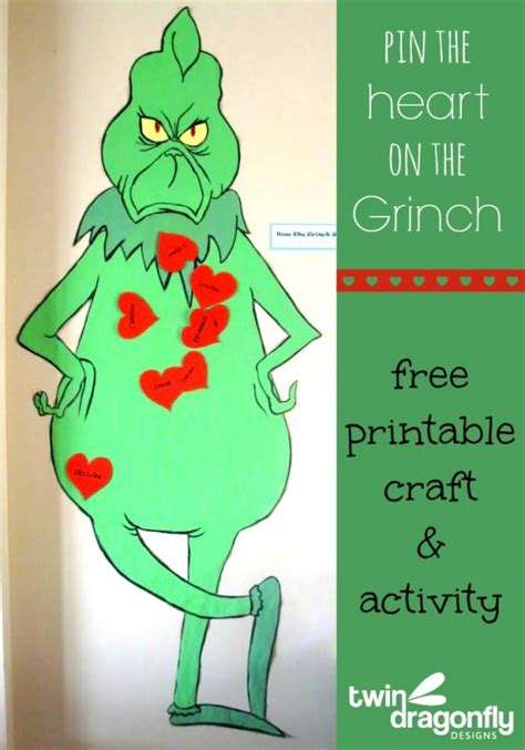 printable version of how the grinch stole christmas 25 grinch crafts and cute treats
