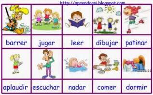 imagenes en ingles verbos aprendo as 205 los verbos