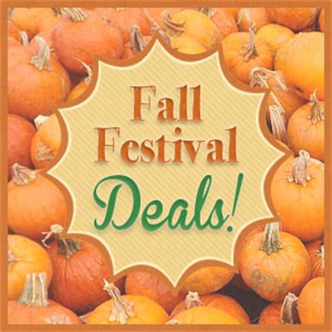 Fall Bargains by Fall Festival Deals Get Coupons For Corn Mazes Pumpkin