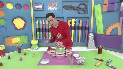 painting on disney junior attack batterie portative sur disney junior vf