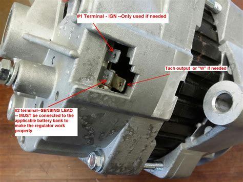 wiring diagram for 1 wire delco alternator delco remy