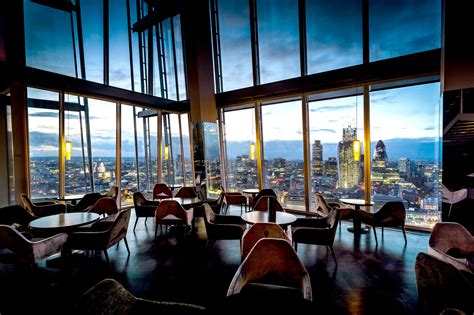 Bar At The Top Of The Shard aqua shard