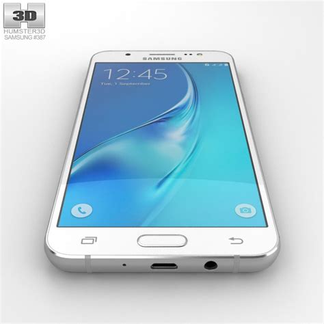 3d J5 2016 samsung galaxy j5 2016 white 3d model hum3d