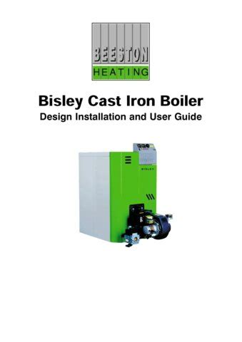 boiler installation guide beeston bisley boiler installation and user guide