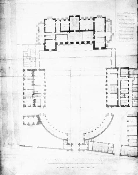 Blue Print Of A House | file burlington house ground floor plan by samuel ware in