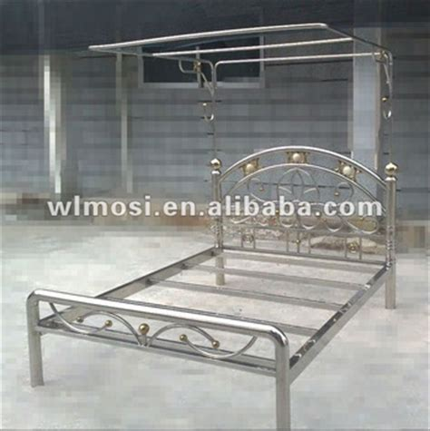 stainless steel bed frame single stainless steel bed with bed frame buy metal bed stainless steel bed double