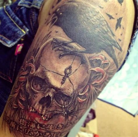 killer tattoo designs killer skull by v at mao malaysian