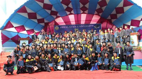 Himalayan Whitehouse College Mba by The 1st Grand Convocation Ceremony Of Himalayan