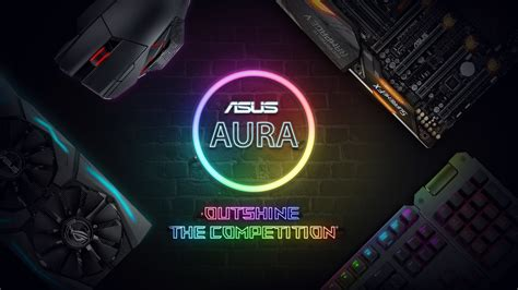 asus aura sync fans asus aura outshine the competition