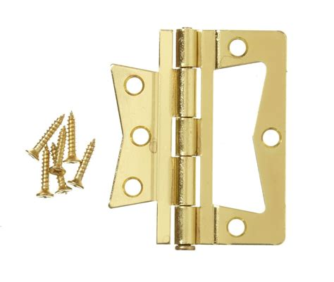 everbilt 3 inch brass non mortise hinge the home depot