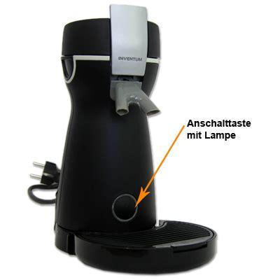 1 tassen padmaschine kaffeepadmaschine inventum hk2 kaffeemaschine padmaschine