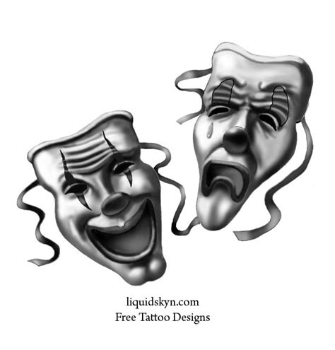 happy sad mask tattoo designs top japanese artists los angeles lace flower