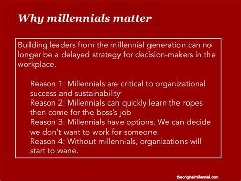 millennials matter proven strategies for building your next leader books next generation diversity grooming millennial leaders