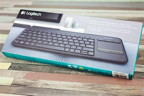 Logitech Wireless Touch Keyboard K400 Plus gecid