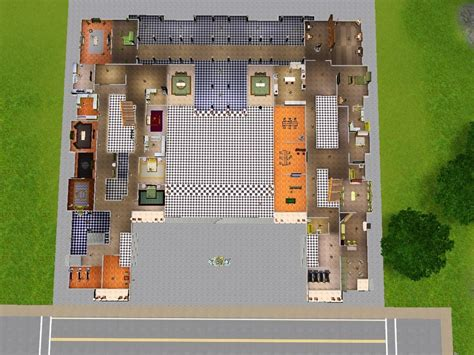 Mod The Sims Le Chateau De Versailles Built By A King Sims 3 Castle Floor Plans