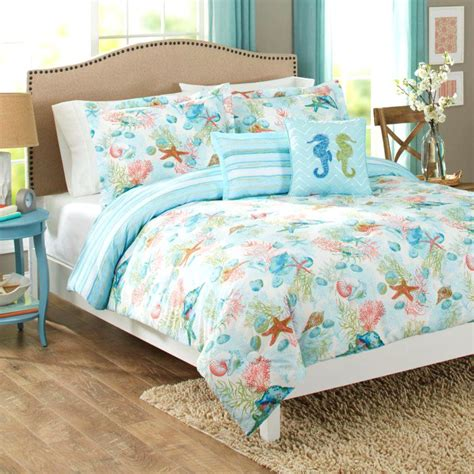 ocean themed comforter tropical fish themed bedding better homes and gardens