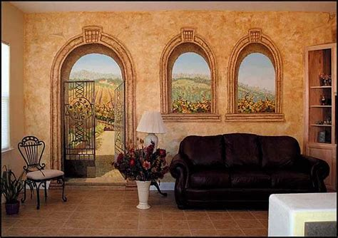 tuscan wall murals murals archives panda s house 2 interior decorating ideas
