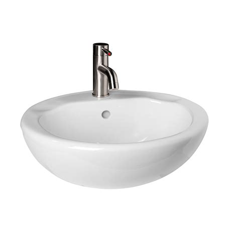 semi recessed kitchen sink avona porcelain semi recessed sink semi recessed sinks