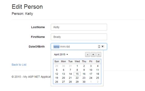 asp net mvc 4 jquery datepicker date format validation a jquery ui based date picker for asp net mvc 5