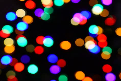 christmas light bokeh overlay christmas lights card and