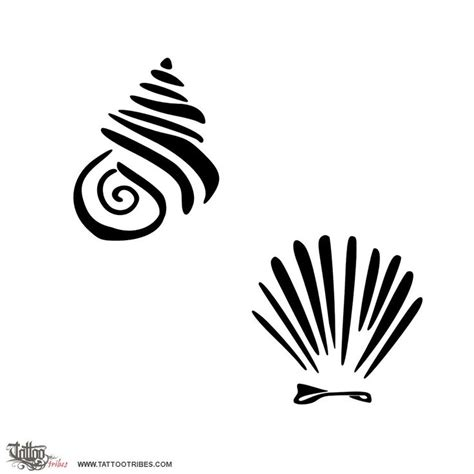 seashell tattoo meaning seashell designs cliparts co