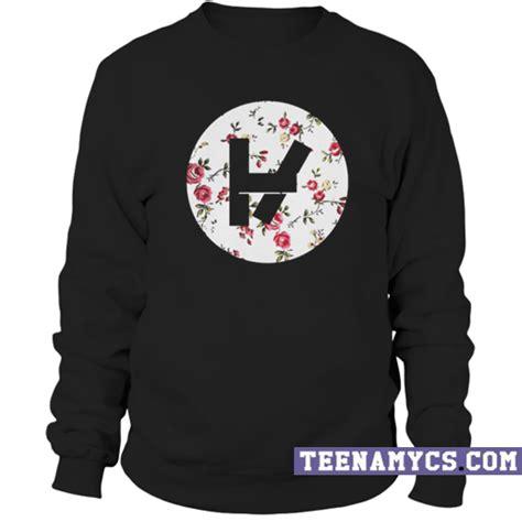 Sweater Twenty One Pilots Logo Redmerch twenty one pilots floral logo sweatshirt teenamycs