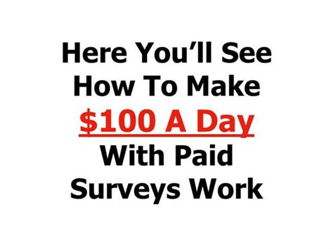 Online Surveys And Get Paid - take surveys online and get paid
