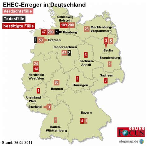 Mba Deutschland Kostenlos by Landkartenblog Ehec Deutschlandkarten Zeigen Die
