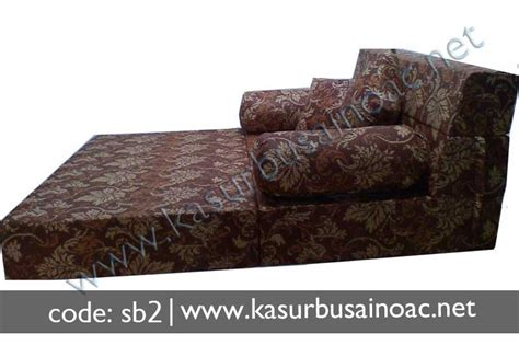Sofa Bed Lipat 1 Pcs Bantal sofa bed motif bunga jual kasur busa inoac