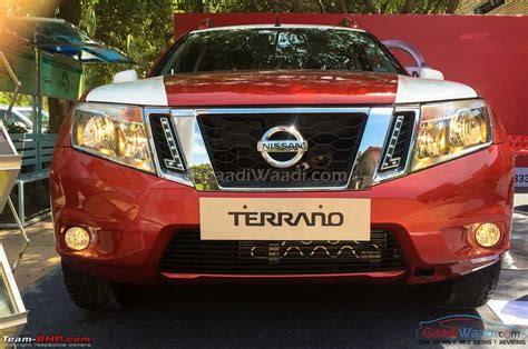 nissan terrano official review page  team bhp