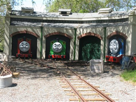 Tidmouth Engine Shed by Photo Tidmouth Sheds The Tank Engine Wikia Images