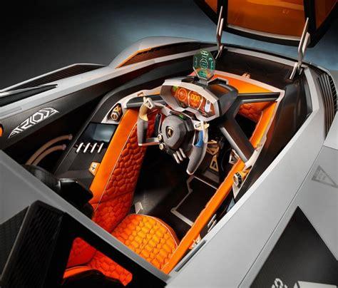 lamborghini cockpit lamborghini single seat concept car named