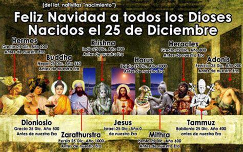 origen del 25 de diciembre como navidad iglesia feliz 25 de diciembre nacimiento de jesucristo y de buda