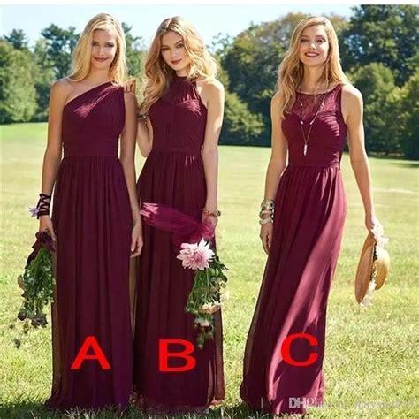 Bridesmaid Dresses Australia Plus Size - best 25 burgundy bridesmaid dresses ideas on