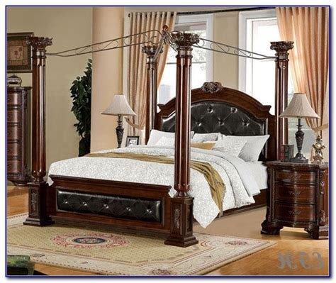 king size canopy bed frame king size canopy bed frame plans bedroom home