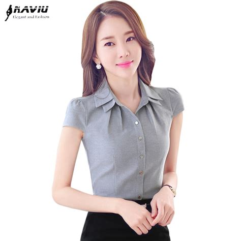 8 Must Shirts For Summer by Office S Shirt 2016 Ol Summer All Match Slim Fashion