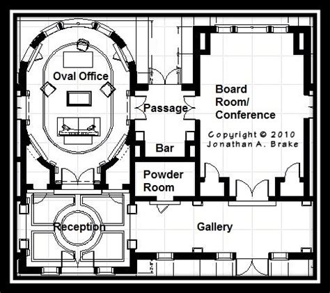 white house replica floor plans 1000 images about architect house plans on pinterest