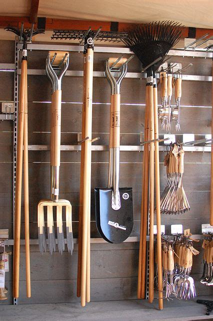 how to hang tools in shed organize your garden tools potting shed greenhouse