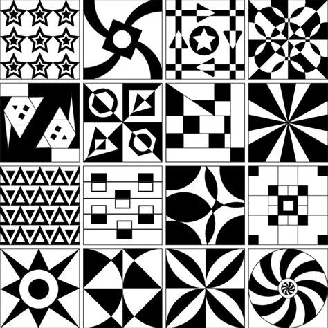 vector pattern tile vector tile design patterns download free vector art
