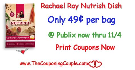 rachael dish food rachael nutrish dish food only 0 49 publix now